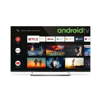 """TV TCL 50EP680 50"""" 4K Ultra HD Ultra Slim HDR et Android Noir"""