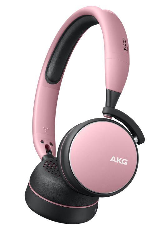 Casque Sans fil AKG Y400 Rose