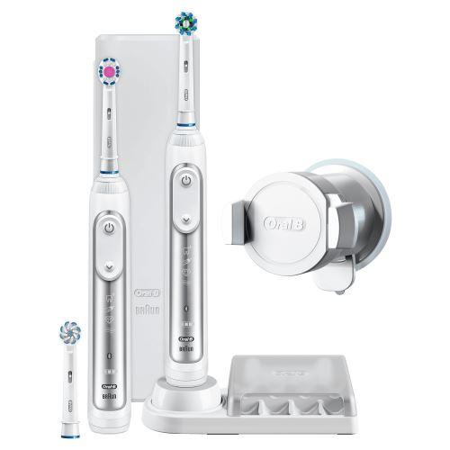 Brosse à dents électrique Oral B Genius 8900 Blanc