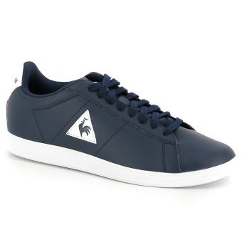 b8541f09d9c9 Chaussures Le coq sportif Courtset S LEA Bleues Taille 46 ...