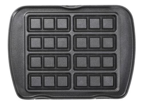 Jeu de plaques Premium Gaufres Lagrange pour 8 mini-gaufres 010622 Noir