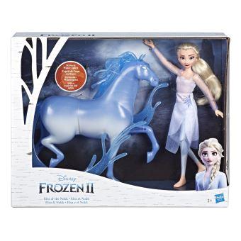 Poupée Disney La Reine des Neiges 2 Elsa et Nokk le cheval