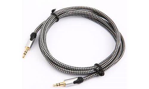 Câble jack 3,5 mm mâle vers jack mâle JVC 1,5 m