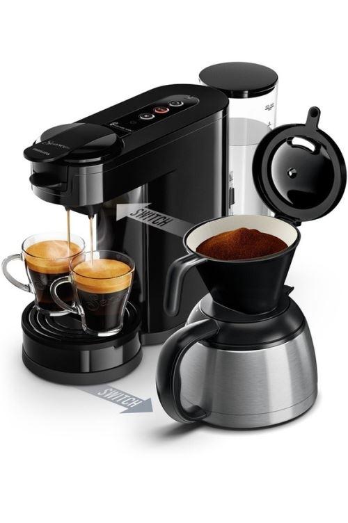 Cafetière à dosette Philips Senseo Switch HD6592/61 1450 W Noir