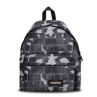 Sac à dos Eastpak Padded Pak'r Cracked Dark 24 L Noir et Gris