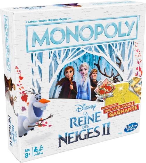 Jeu classique Hasbro Gaming Monopoly Disney La Reine des Neiges 2 85 ans