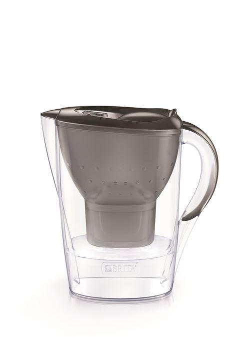 Carafe filtrante Brita Marella 2,4L Gris