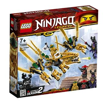 LEGO® Ninjago 70666 Le dragon d'or