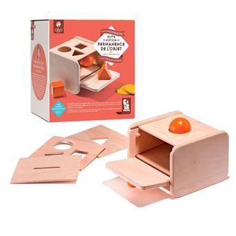 Caja de formas geométricas Montessori - Permanencia del objeto