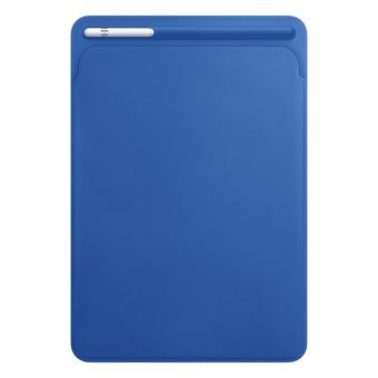 "APPLE LEATHER SLEEVE  10.5"" IPAD PRO ELECTRIC BLUE"