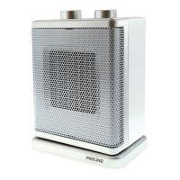Chauffage soufflant céramique Proline 1800 W Blanc