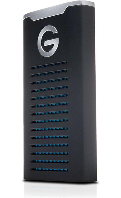 Disque SSD Externe G-Technology G-Drive Mobile 500 Go Noir - SSD externe. Remise permanente de 5% pour les adhérents. Commandez vos produits high-tech au meilleur prix en ligne et retirez-les en magasin.