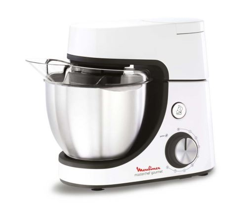 Robot pâtissier Moulinex Masterchef Gourmet QA510110 1100 W Blanc