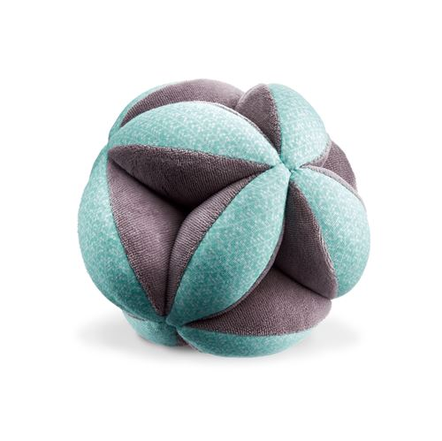 Balle puzzle en coton bio Montessori