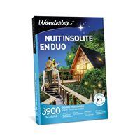 Coffret cadeaux Wonderbox Nuit Insolite en duo