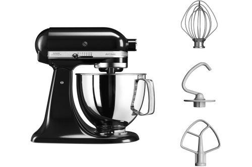 Robot pâtissier KitchenAid Artisan 5KSM125EOB 300 W Noir Onyx