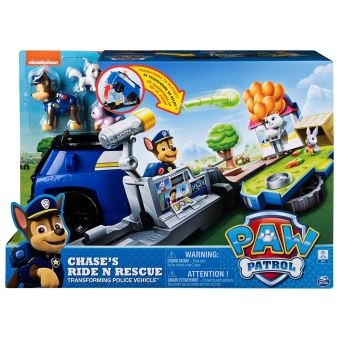 Véhicule Ride N Rescue Chase Pat Patrouille
