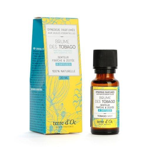 Synergie parfumée brumes des Tobago Terre d'Oc 20 ml