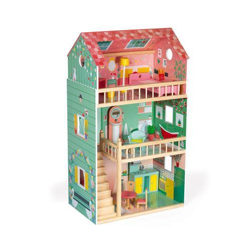 Maison de poupées Janod Happy Day Vert