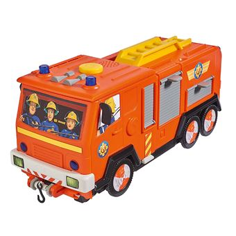 Playset Smoby Sam Le Pompier Camion Jupiter 2 En 1 Univers