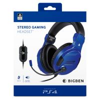 OFFICIAL STEREO GAMING HEADSET V3 FOR PS4 BLUE