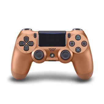 Manette PS4 Sony DualShock 4 Sans fil V2 Metallic Copper