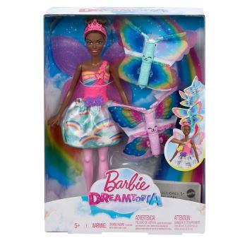 Poupée Barbie™ Dreamtopia Fée Papillon Brune Mattel