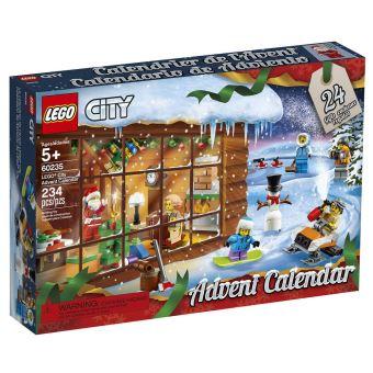 LEGO® City Town 60235 Le Calendrier de l'Avent   Lego   Achat