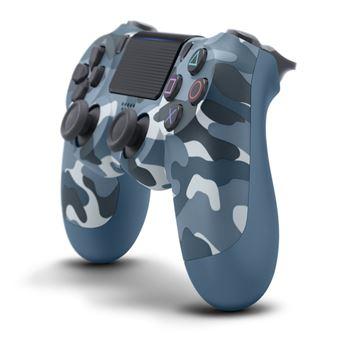 Manette PS4 Sony DualShock 4 Sans fil V2 Blue Camouflage