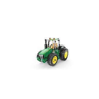 Tracteur Meccano John Deere 8R Vert