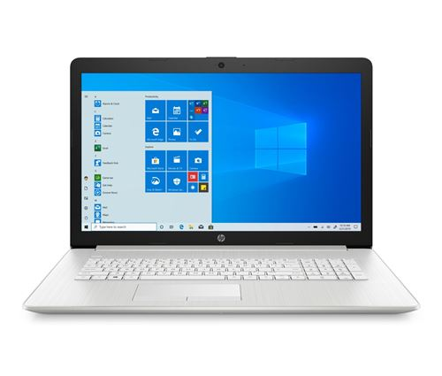 """PC Portable HP 17-by4045nf 17.3"""" Intel Core i5 8 Go RAM 512 Go SSD Argent naturel"""