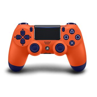 Manette PS4 Sony DualShock 4 Sans fil V2 Sunset Orange