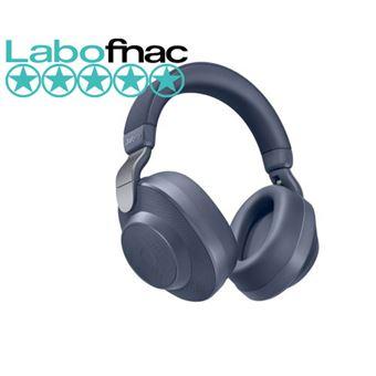 Jabra Elite 85h - Koptelefoon met micro - over oor - Bluetooth - draadloos - actieve geluidsdemping - marineblauw