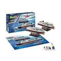 Coffret de 2 maquettes Revell 125 Ans Hurtigruten