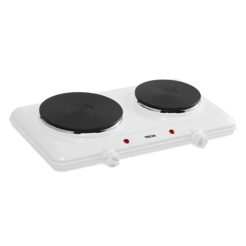Table de cuisson électrique Proline 2250 W Blanc