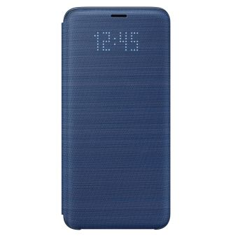 SAMSUNG S9 LED VIEW COVER BLUE