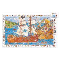 Puzzle observación Los piratas Djeco