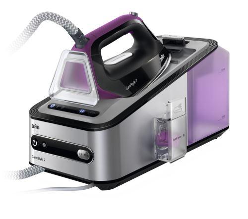 Centrale Vapeur Braun CareStyle 7 Pro IS7144BK 2400 W Violet et Noir