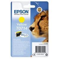 Cartouche d'encre Epson T0714 Jaune