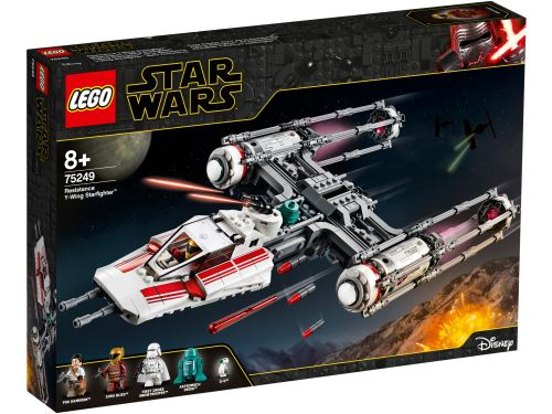 LEGO® Star Wars™ Episode IX 75249 Y-Wing Starfighter™ de la Résistance