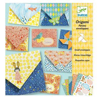 Kit créatif Djeco Origami Petites enveloppes