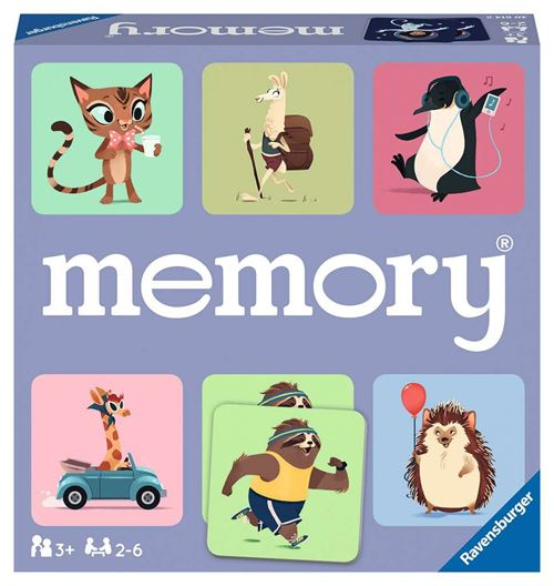 Jeu de mémoire Le monde sauvage des animaux Ravensburger Memory