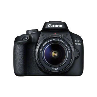 Spiegelreflex Canon EOS 4000D Zwart + Lens EF-S 18-55 mm f/3.5-5.6 III