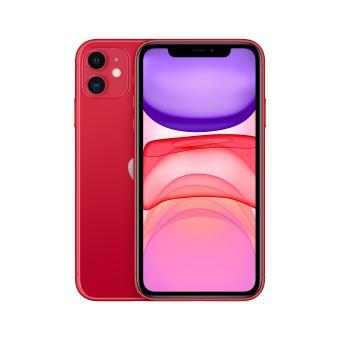 "Apple iPhone 11 128 Go 6.1"" Rouge"