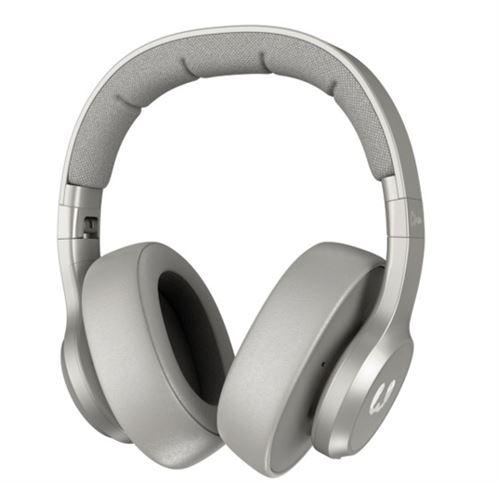 Casque circum-aural sans fil Fresh'n Rebel Clam Bluetooth Gris