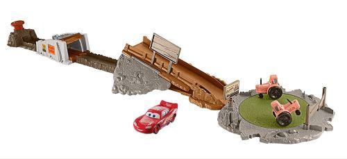Mcqueen Mattel 3 Cars Flash Entraînement Playset Avec Véhicule Piste Intensif kilOuwTXZP