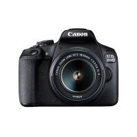 Reflex Canon EOS 2000D Noir + Objectif EF-S 18-55 mm f/3.5-5.6 IS II