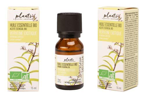 Huile Essentielle Verveine Exotique Plants 15 ml