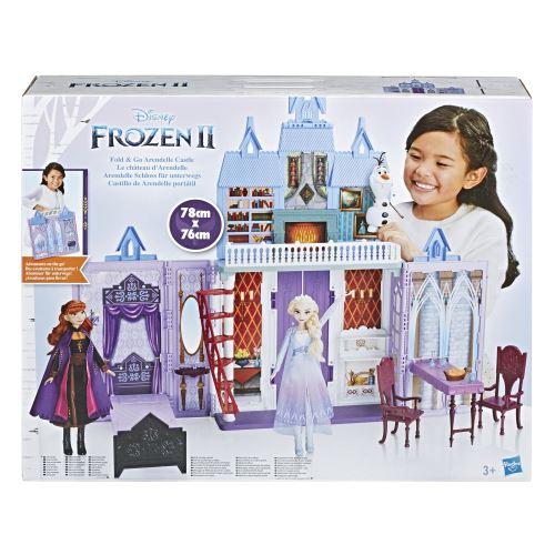 Coffret Disney Frozen La Reine des Neiges 2 Le château d'Arendelle transportable