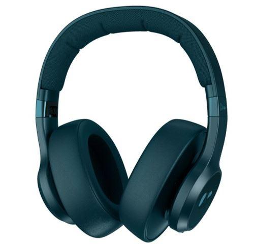 Casque circum-aural sans fil à réduction de bruit Fresh'n Rebel Clam ANC Bleu Pétrole